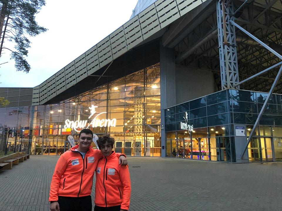 Juveniles en Lithuania Alpine Ski Cup