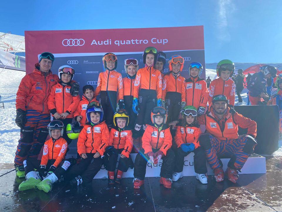 Gran fin de semana en Sierra Nevada en el XVI Trofeo Maia José Rienda