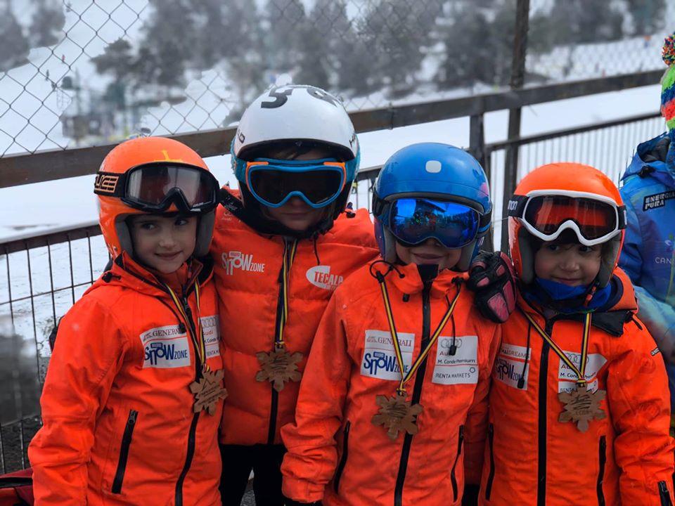 Los mas pequeños suben al podium en Andorra